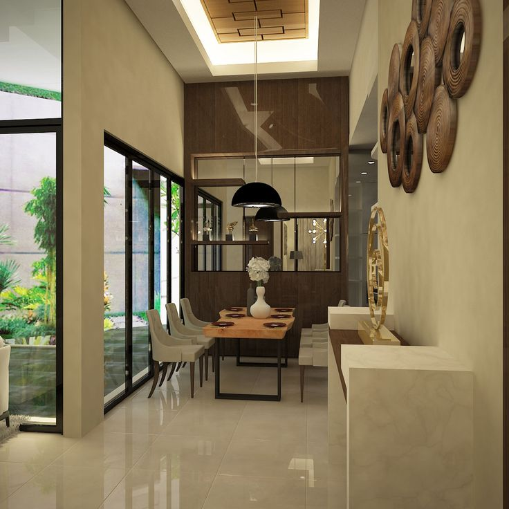 House Project Interior Design at East Jakarta 2015 Dining Area