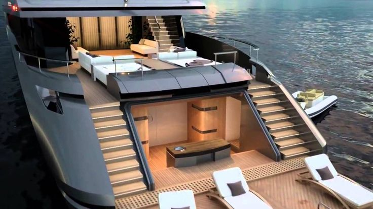 Motor Yacht Project M50 by Hot Lab for Mondo Marine