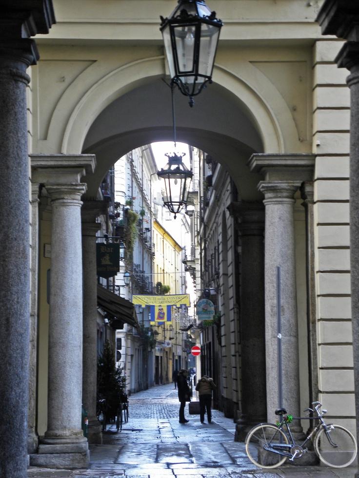 Torino Via dei Mercanti