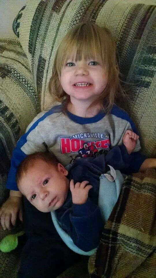 Sabrina and Thomas-Aunt Dini's grandkids