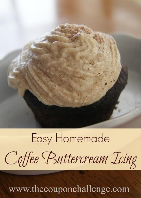 Easy Coffee Buttercream Frosting Recipe: Buttercream Frosting