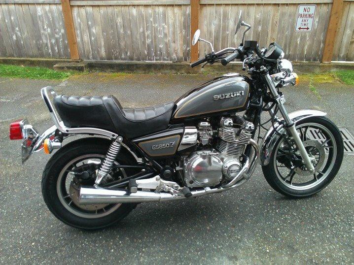1982 suzuki gs850 glz   my classic and custom motorcycles
