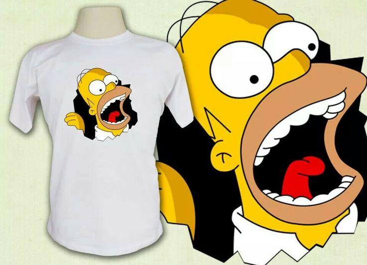 Camiseta Simpson