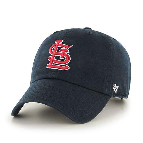 MLB St. Louis Cardinals '47 Brand Navy Basic Logo Clean Up Home Adjustable Hat