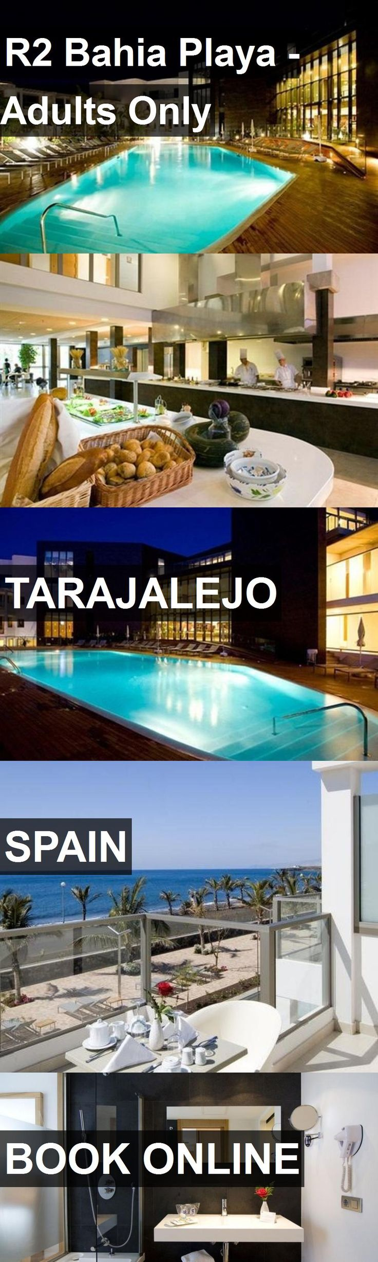 Hotel R2 Bahia Playa - Adults Only in Tarajalejo, Spain. For more information, photos, reviews and best prices please follow the link. #Spain #Tarajalejo #R2BahiaPlaya-AdultsOnly #hotel #travel #vacation