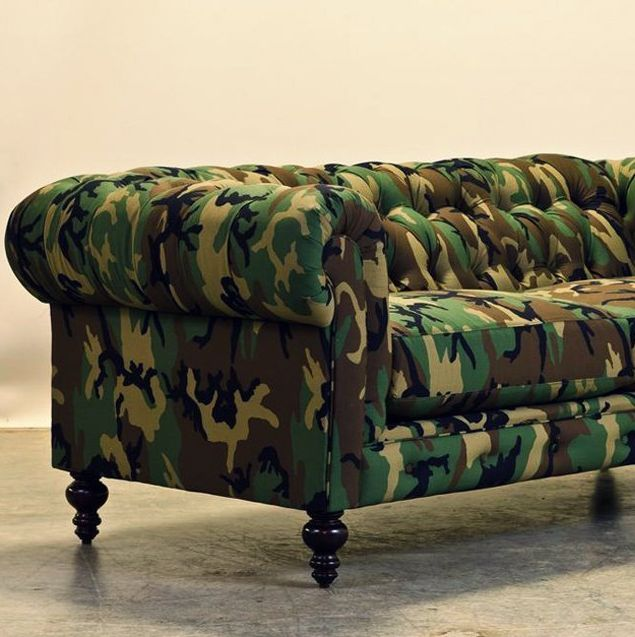 Camouflage Chester Couch By Cococohome Architecture Pinterest Chesterfield And Camo
