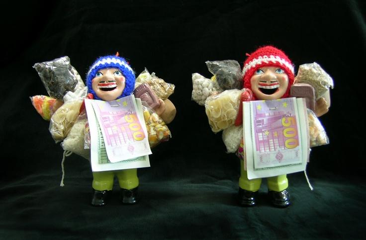 Witch Bolivian Ekeko dolls.