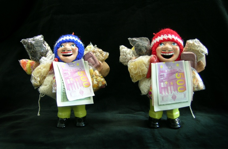 Witch Bolivian Ekeko dolls.