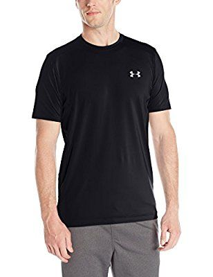 Under Armour Ua Raid Ss - Camiseta para hombre, color negro, talla M