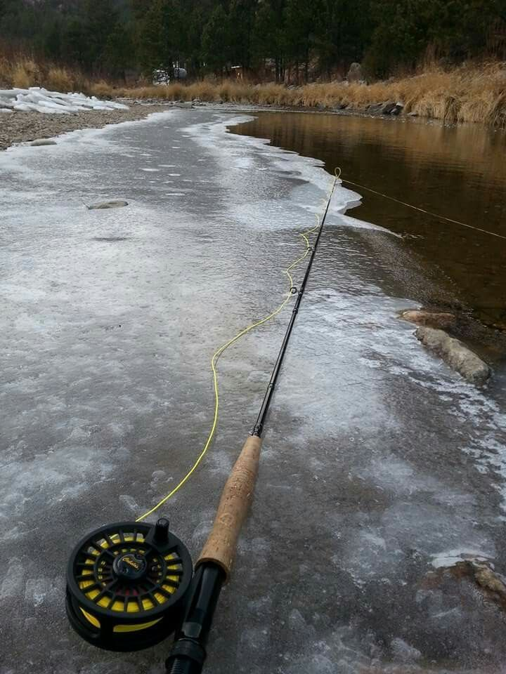 Cold weather fishing big thompson river loveland co for Fishing in cold weather