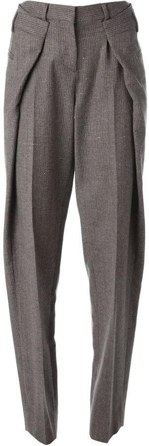 Maison Margiela origami tweed trousers