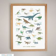 Hey, I found this really awesome Etsy listing at https://www.etsy.com/listing/99405910/dinosaurs-a-to-z-printable-wall-art