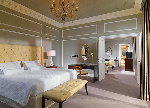 The Westin Excelsior, Rome—Grand Luxe Suite