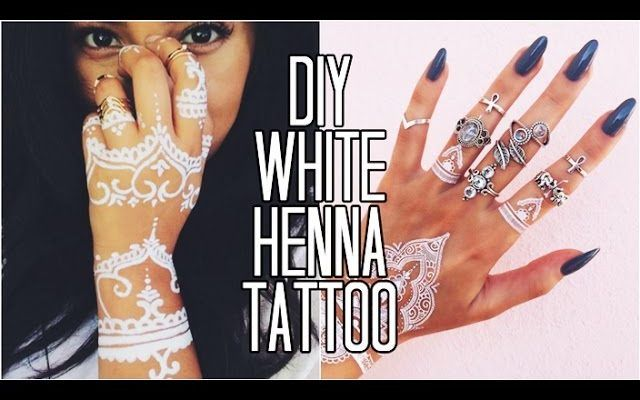 Easy Diy White Henna Only 3 Ingredients Styledbyaishyee Henna Tattoos Mehendi Mehndi Design Ideas And T Henna Tattoo Diy Henna Tattoo Recipe White Henna