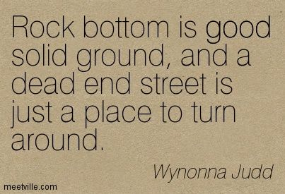 Wynonna judd rock bottom