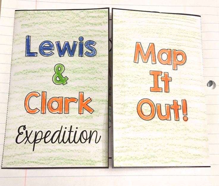 Worksheets Lewis And Clark Expedition : Lewis and clark activities this