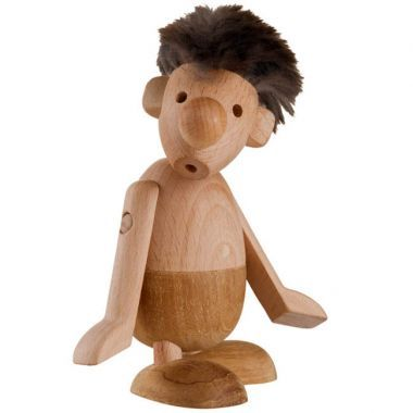 Hans Bolling Danish Strit Design Figurine by Architectmade, Wood
