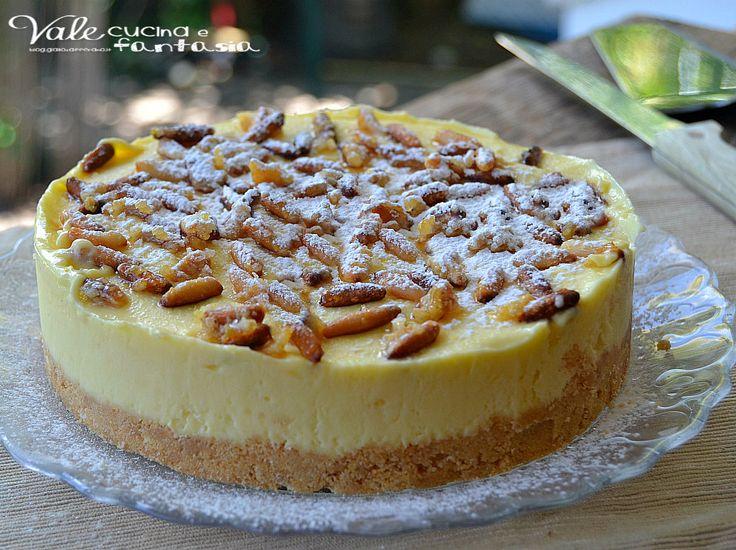 Torta della nonna gelato una rivisitazione della classica torta della nonna in versione fredda con pinoli caramellati vi stupirà per il suo gusto delicato