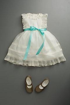 baby girlLittle Dresses, Flower Girls Dresses, Little Girls, Parties Dresses, Blessed Dresses, Baby Girls, White Dresses, Kids Clothing, Baptisms Dresses