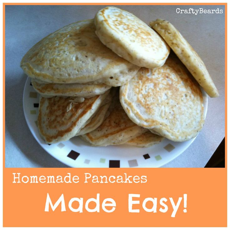 Homemade Pancake Mix Recipe. Uses flax seed meal in place of the egg