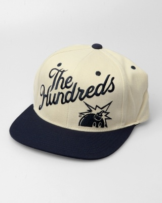 The Hundreds Slant Snapback Cap