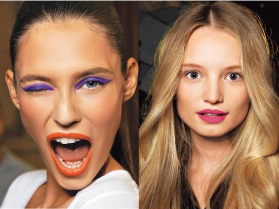 Beauty Trends 2011: Knallfarben
