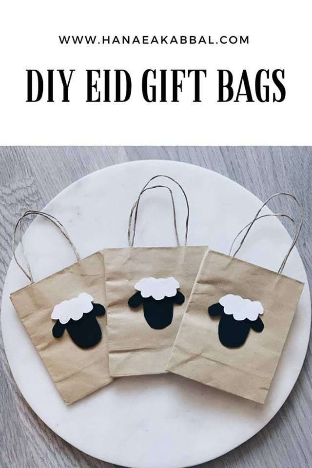 Diy Mini Eid Gift Bags Eid Gift Bags Diy Eid Gifts Eid Gifts
