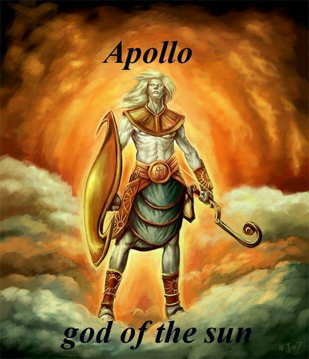 Appson Of Zues God Of Music Medicine The Arts And