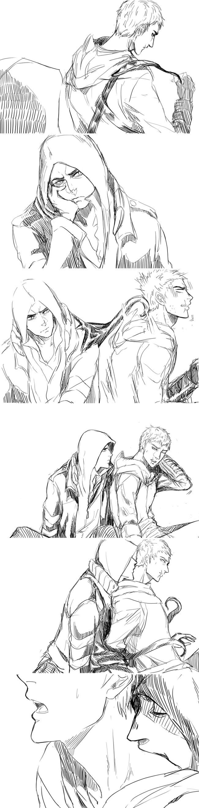 (BL) Alex/Altair doodle 47 by Kyu3118