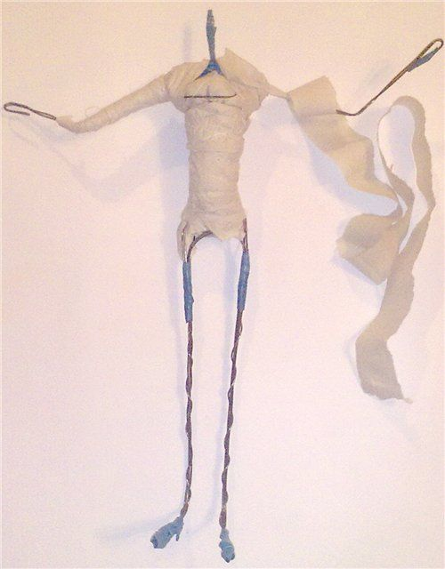 Продолжаем работу по формированию тела куклы. МК по изготовлению каркаса здесь: http://www.livemaster.ru/topic/74923-sozdanie-provolochnogo-karkasa-dlya-avtorskoj-kukly?inside=1