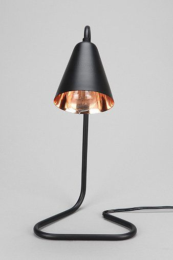 cute lamp...wouldn't take up too much desk space Assembly Home Paperclip Desk Lamp - Urban Outfitters
