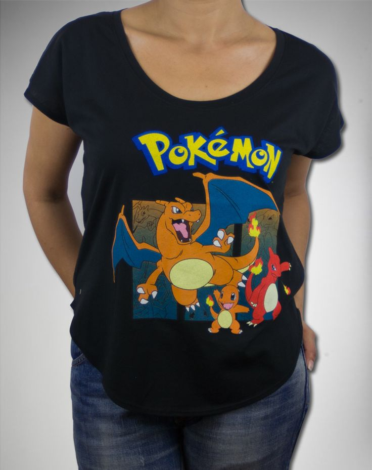 Party points to ME! I just found the Pokemon Charizard Evolution Scoop Neck Junior Fitted Tee from Spencer's. Visit their mobile website to get this item and more like it.