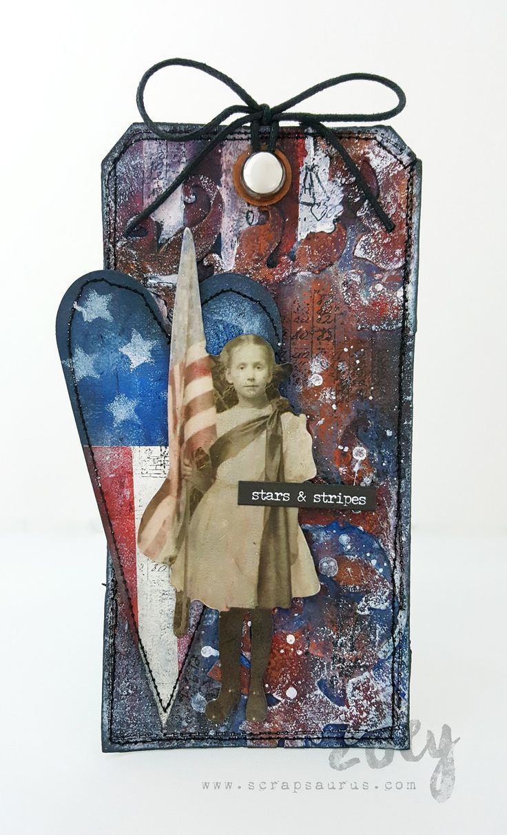 Stars and Stripes | Zoey - Mixed Media & More