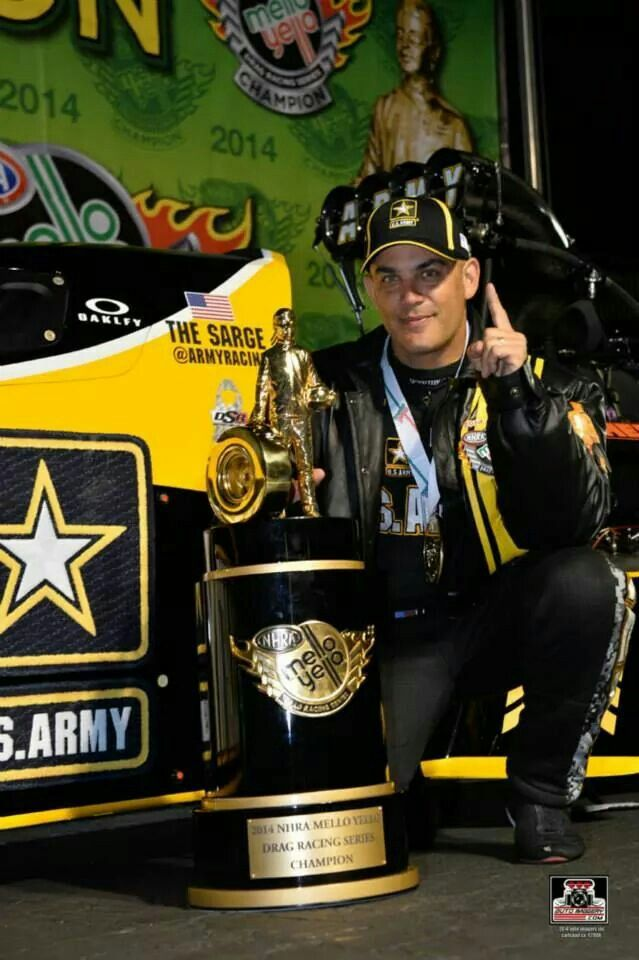 """Tony Schumacher """"The Sarge"""" 2014 Champion Top Fuel NHRA Dragster"""