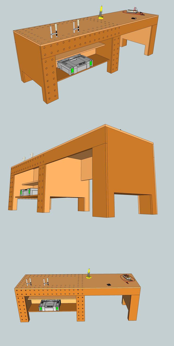 Bau einer Werkbank (Mit Video)   Holzwerkerblog von Heiko Rech