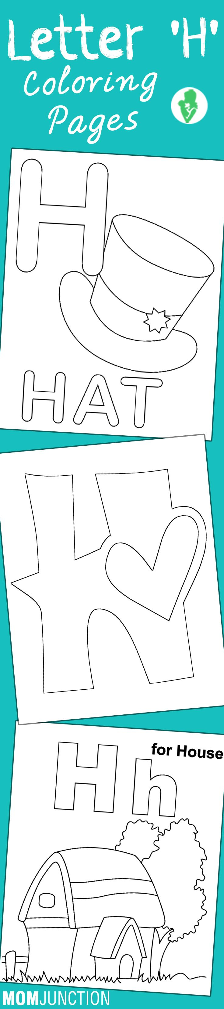 Top 10 Letter 'H' Coloring Pages Your Toddler Will Love To Learn & Color