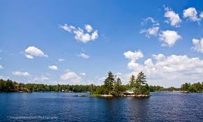 Stoney Lake, Ontario - where I spent my childhood summers sailing and tanning