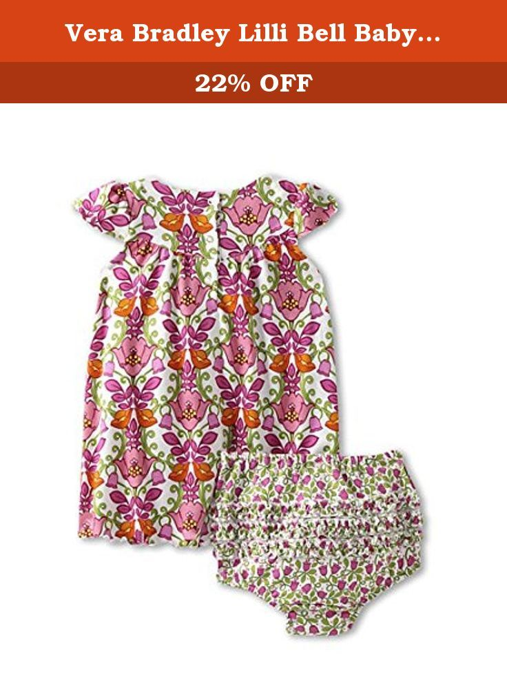 94a3c9da8 Vera Bradley Lilli Bell Baby Dress & Bloomers Boxed Gift Set 9-12 months.  P…   Playwear, Dresses, Clothing, Baby Girls, Baby, Clothing, Shoes &  Jewelry
