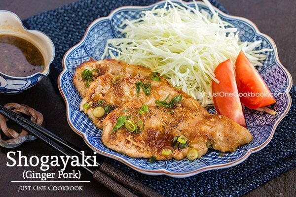 Classic Japanese ginger pork recipe, one of my favorite homemade dish with tender sliced pork in sweet ginger sauce.