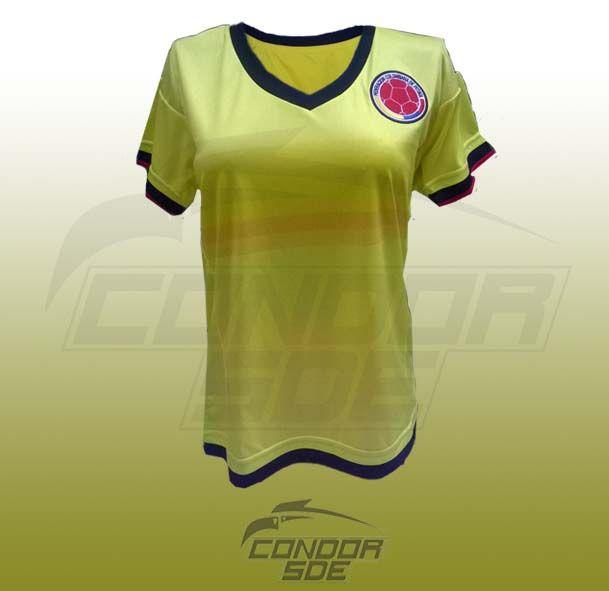 Camisa Selección Colombia copa America 2015 - 2016