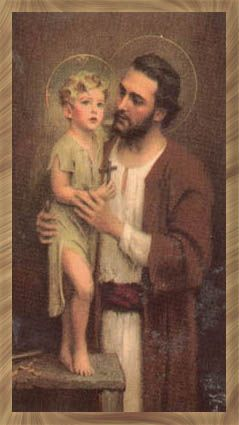 Saint Joseph and Jesus, pray for us!