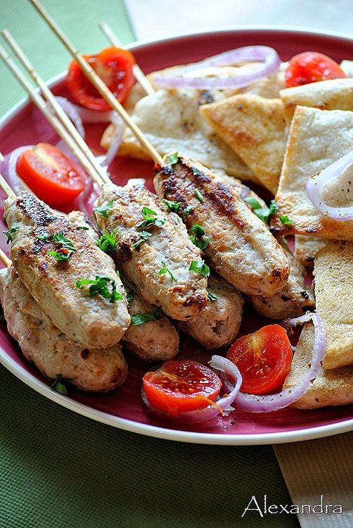 Κεμπάπ με κοτόπουλο