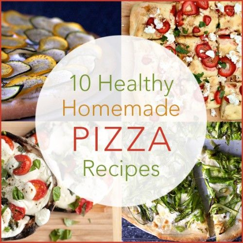 Many delicious and healthy pizza/flatbread recipes are on the web- it was hard for me to narrow it down for you. Here are just a few of my faves!