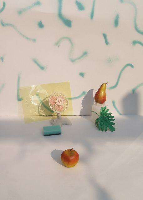 Still life by Naomi Kolsteren. Faded.