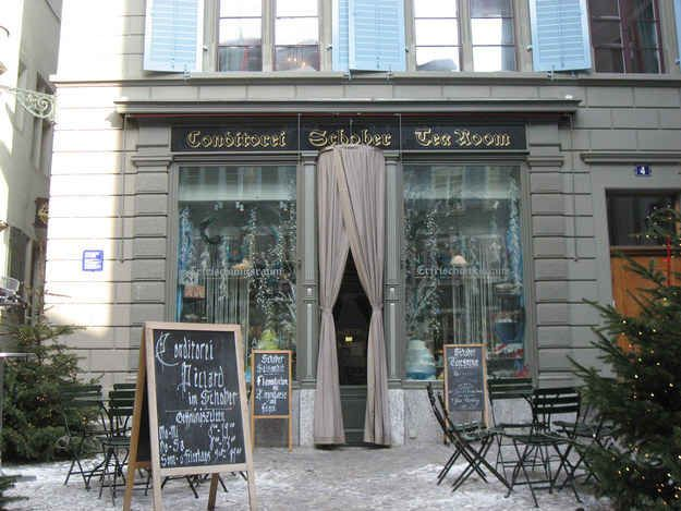 Conditorei Schober in Zurich   25 Bakeries Around The World You Have To See Before You Die