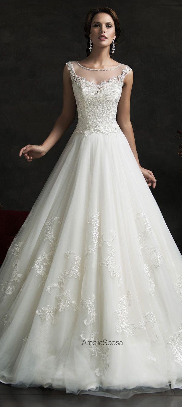 Amelia Sposa 2015 Wedding Dress - Luiza - Belle The Magazine