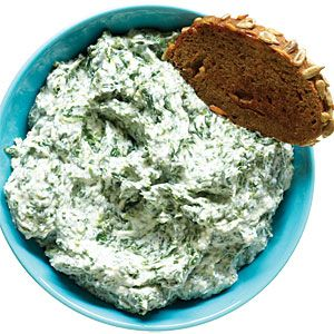 12 delicious party dips | Creamy Spinach and Parmesan Dip | Sunset.com: Creamy Spinach, Parties Dips, Parmesan Dips, Cottages Cheese, Delicious Dips, Healthy Dips, Dips Recipes, 12 Delicious, Dip Recipes