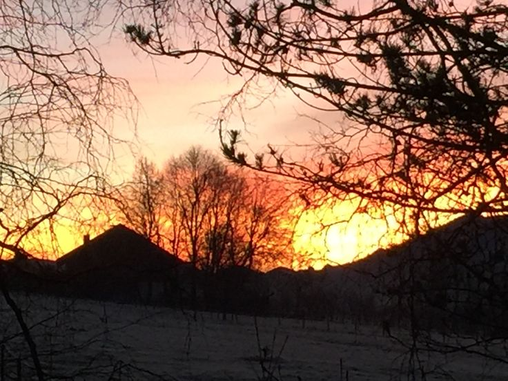 Sonnenaufgang Silvester 2016/17 after 16 hours of Taketina