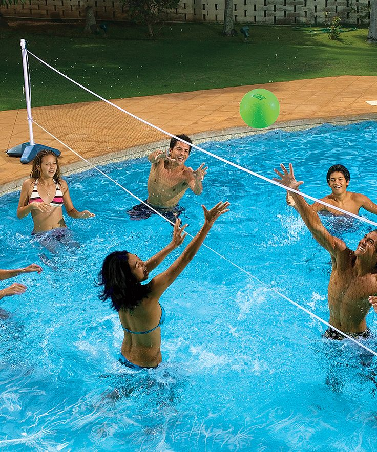 Best 25 pool volleyball net ideas on pinterest outdoor - Pool volleyball ...