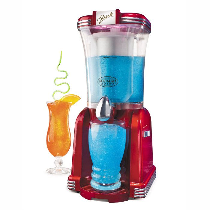 Retro Series Slushee Machine  Frozen drink machine that will add thirst-quenching fun to any occasion!  $49.99